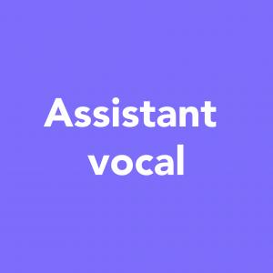 assistant-vocal